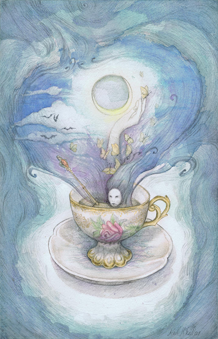 A Saucer Full Of Secrets by nellmckellar