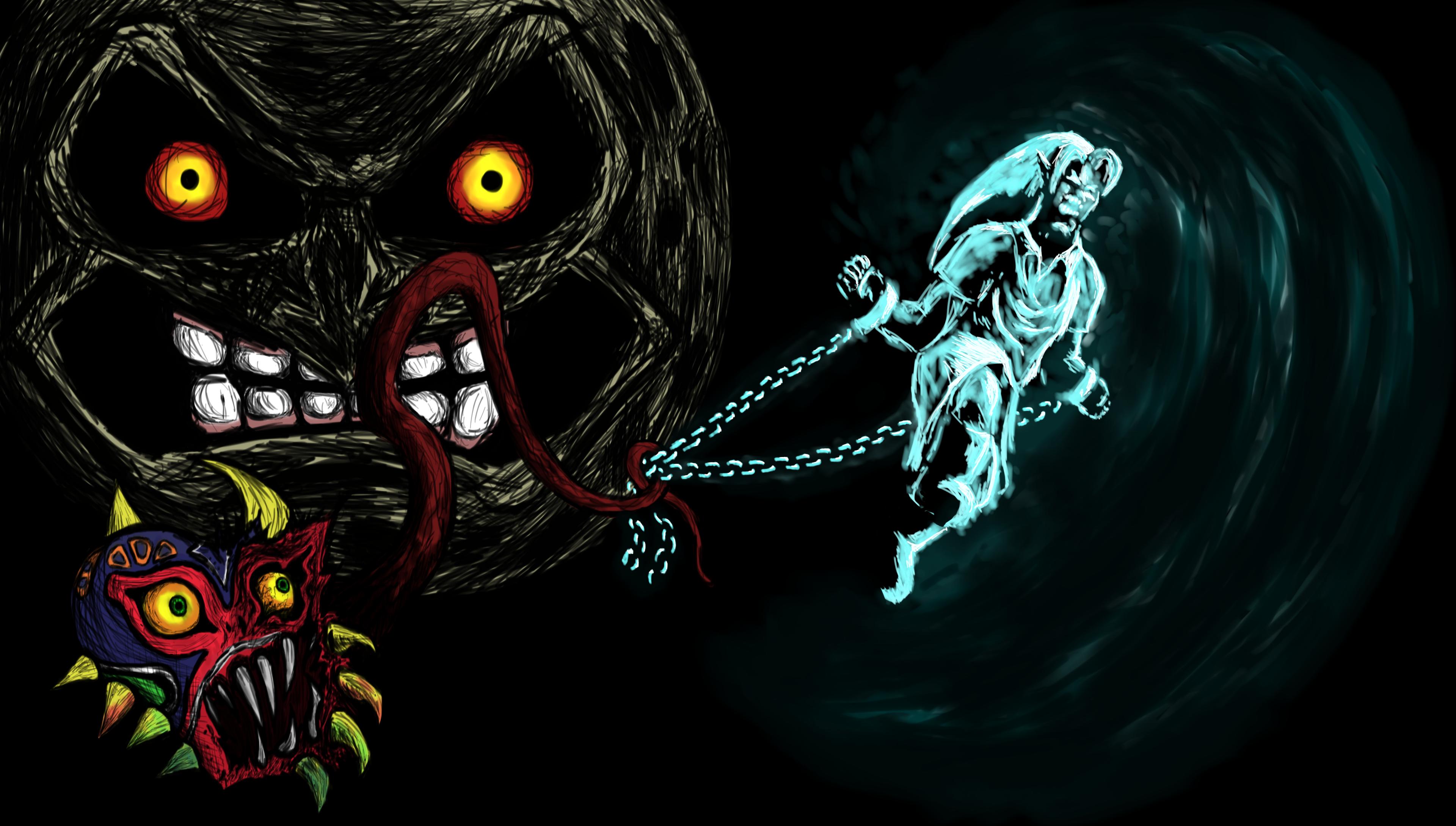 Majora's Mask: The Struggle of Link by CarlosEd on DeviantArt