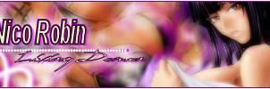 Nico Robin +Signature Tag+ by Runte