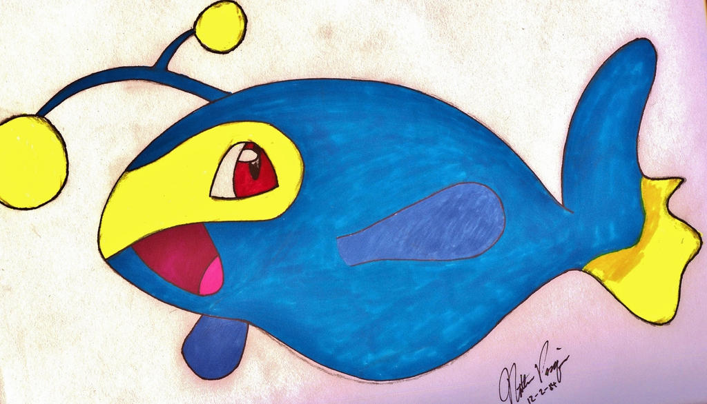 Tanky Electric Fish by holographic-poptarts