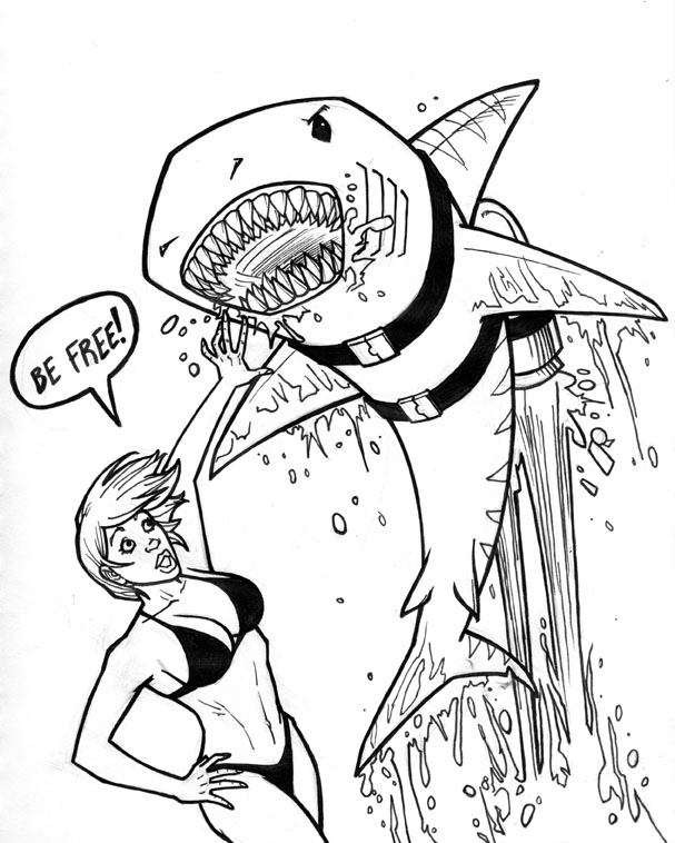 Jetpack Shark Attack By TheCaybo On DeviantArt