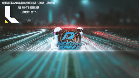 NFS Youtube Background Banner by L3M3N