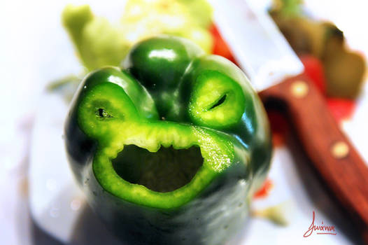 Angry Pepper Is Angry