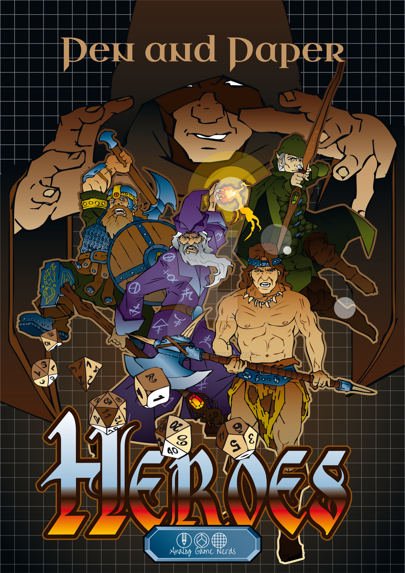 Pen and Paper Heroes by solterbeck65