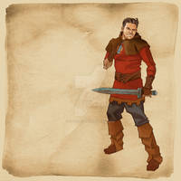 Fantasy RPG OC Lucca