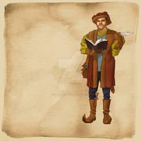 Fantasy RPG OC Vincent