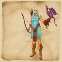 Fantasy RPG OC Lilly