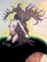 Tree Woman by kaleidoactive
