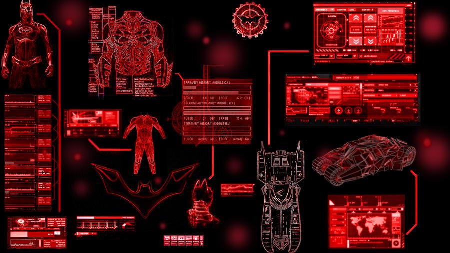 Batcomputer Interface By Jmcnutt420 On DeviantArt