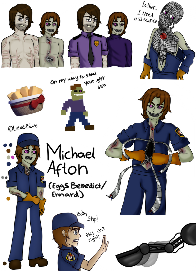 Michael Afton X Reader Related Keywords & Suggestions