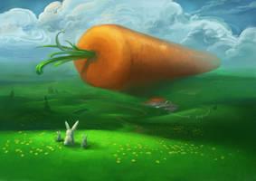 Bunny Heaven by angrymikko