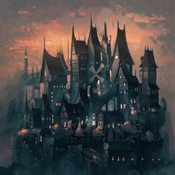 Raven's Nest by angrymikko