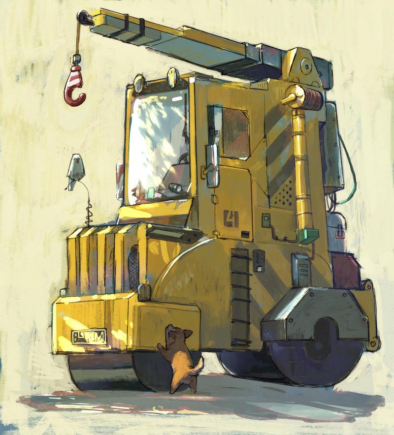 Big Machine by angrymikko