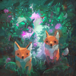 My Foxes Will Look After You by angrymikko