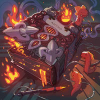 Burn Codex by angrymikko