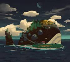 <b>Sleeping Island</b><br><i>angrymikko</i>