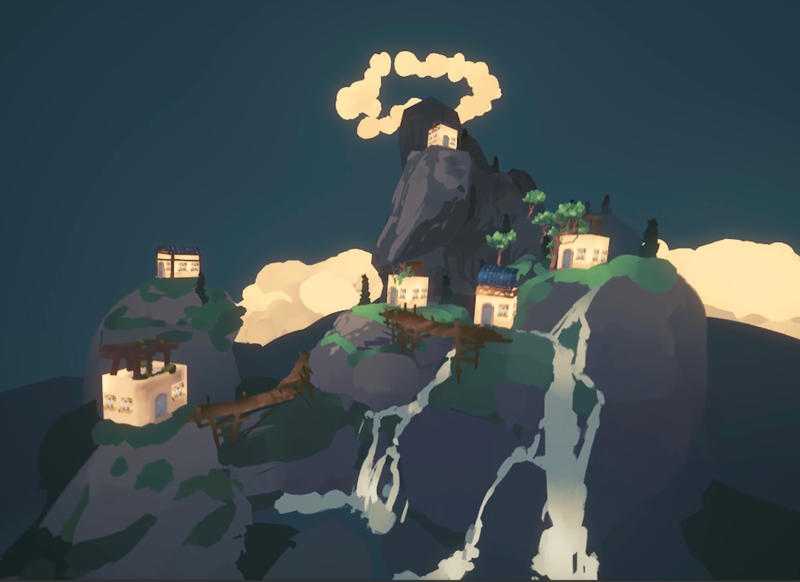 Cliffside Village by angrymikko