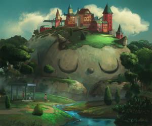 Sleeping Hill by angrymikko