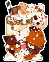 S'mores Milkshake by Yanchamu