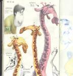 Giraffe - Sketchbook I