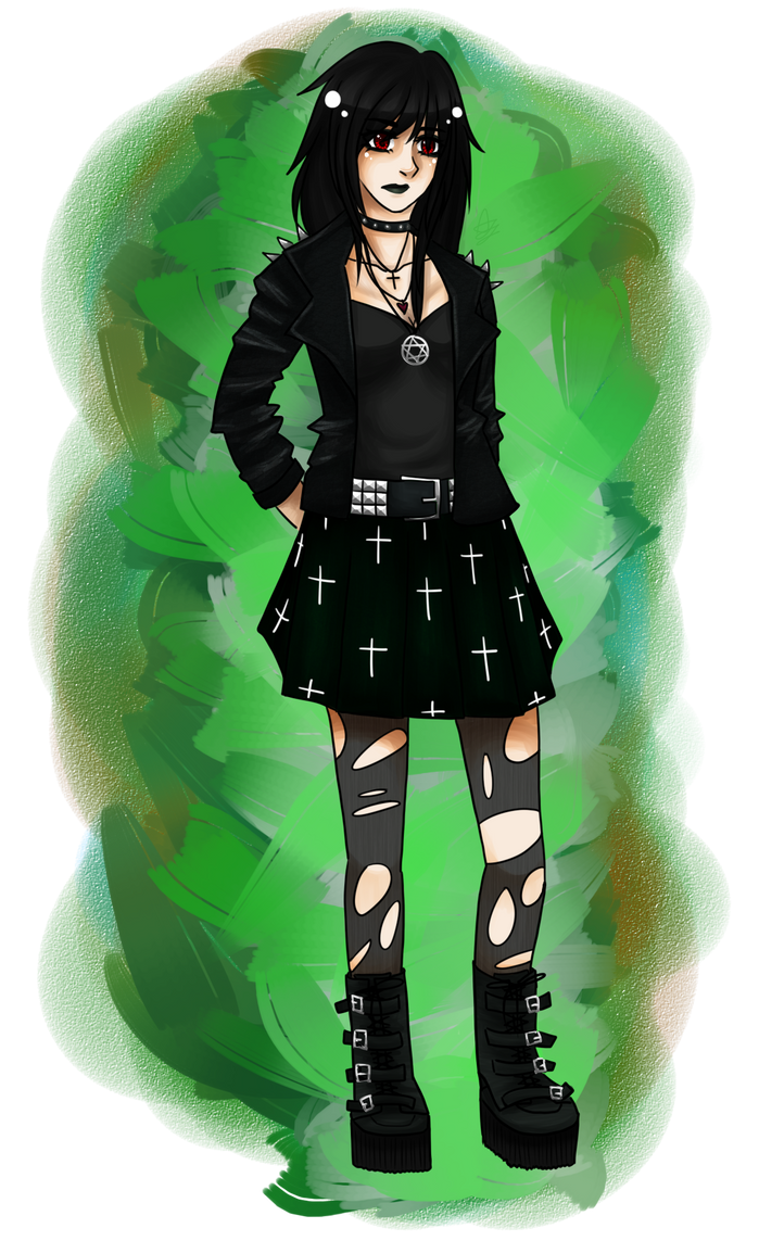 [CE] goth!Jade by atlgdlp