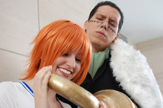 Nami's only interest is gold