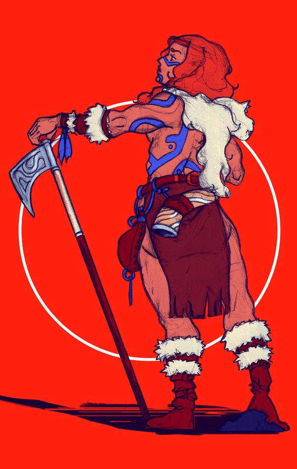 barbarian by kikodv