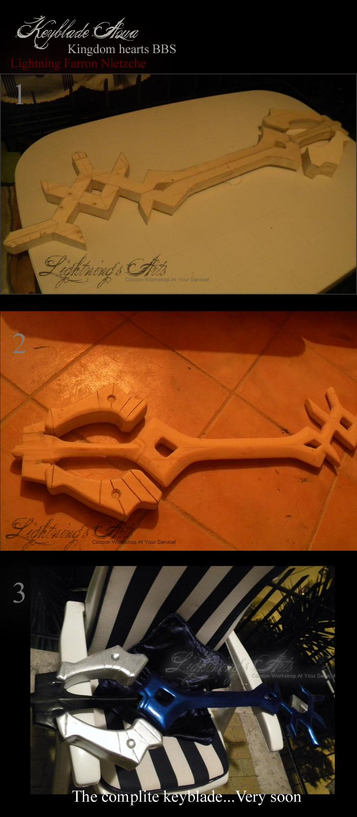 Keyblade Aqua - Commission by LightningTheArtist
