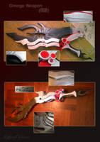 Lightning's Omega Weapon by LightningTheArtist