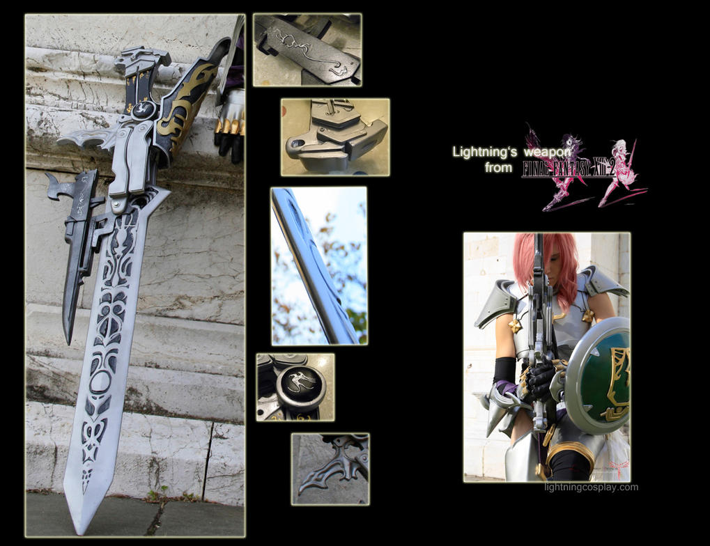 Lightning's weapon from FFXIII-2 by LightningTheArtist