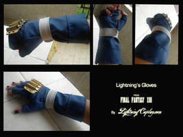 Lightning's Gloves (NEW VERSION) by LightningTheArtist