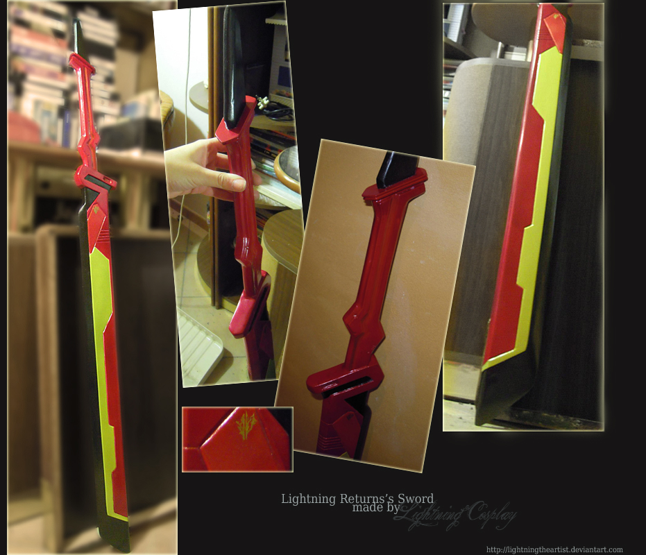 Lightning Returns's Sword by LightningTheArtist