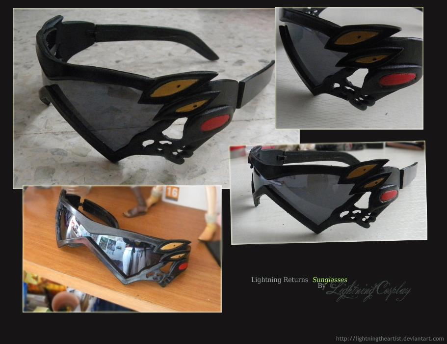 Lightning Returns Sunglasses by LightningTheArtist