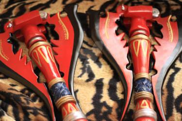 Oerba yun fang spear from FINAL FANTASY XIII