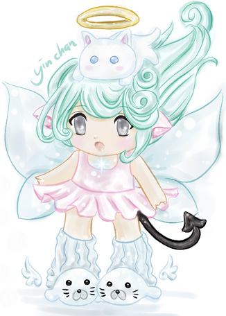 Chibi Fairy V2 by twistedkawaii