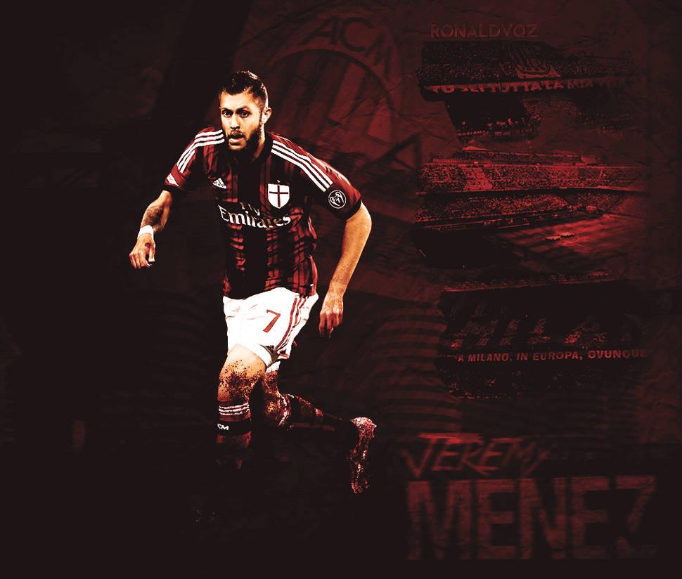 343225590f7 Jeremy Menez - AC Milan by RonaldVQZ on DeviantArt