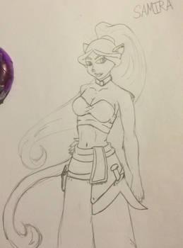 Samira: Catfolk Warlock