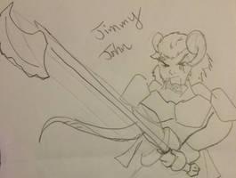 Jimmy John: Teifling Fighter (sorta)