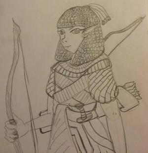 Akhetaten: Half-Elf Ranger