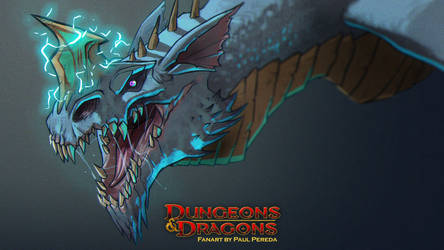 Dungeons and Dragons - Blue Dragon