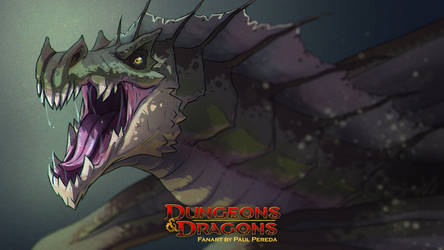 Dungeons and Dragons - Green Dragon