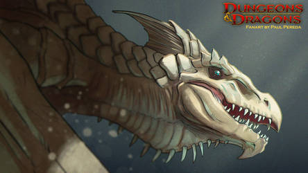 Dungeons and Dragons - White Dragon