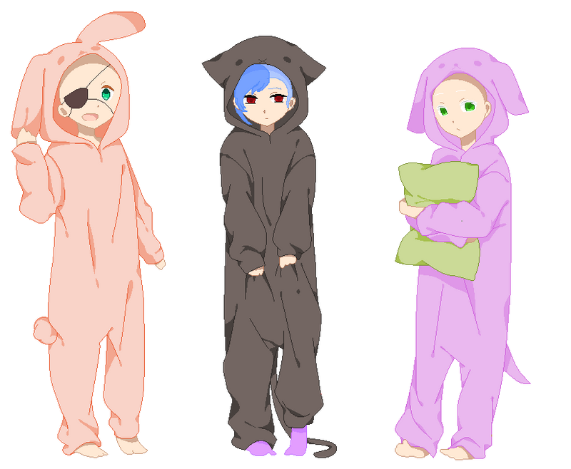 Kigurumi COLLAB -closed- by YumiChanLovesTeddys