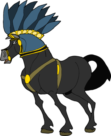 Cheval egyptien clipart by narmer95 on deviantart - Clipart cheval ...