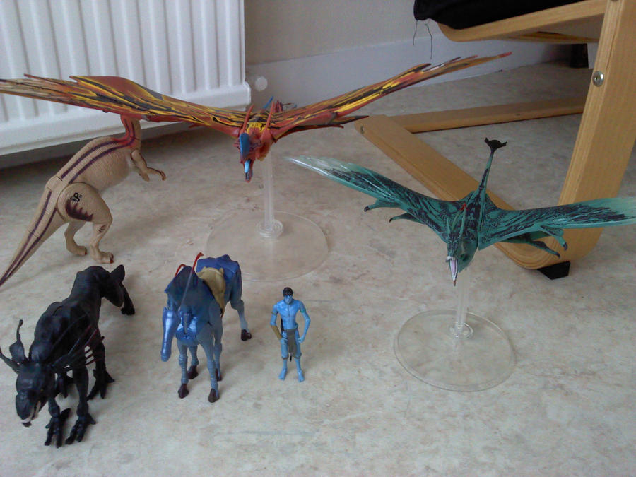 My avatar figures by narmer95 on deviantart - Leonopteryx wallpaper ...