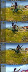 Gatling rider galop by narmer95
