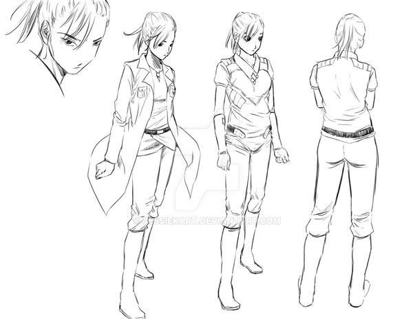 Design My Anime Character : Manga character design victoria by jessiekart on deviantart