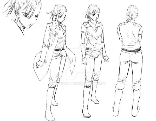 Character Design College Major : Manga character design victoria by jessiekart on deviantart
