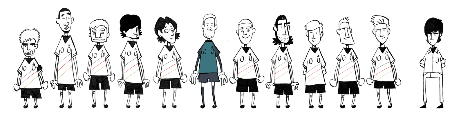 The German Team 2012 by fubumeru