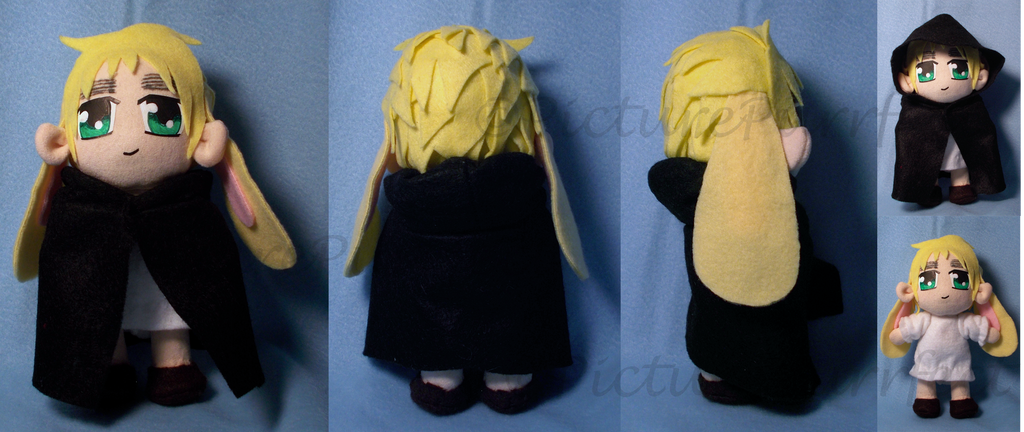 Commission: Chibi England Plushie by Meip